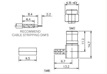 Right Angle Plug Crimp
