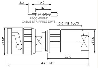 Straight Plug Clamp Lock