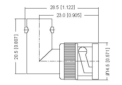 BNC Plug to BNC Socket