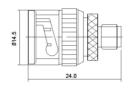 SMA Socket to BNC Plug