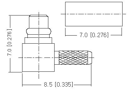 Right Angle Plug Crimp