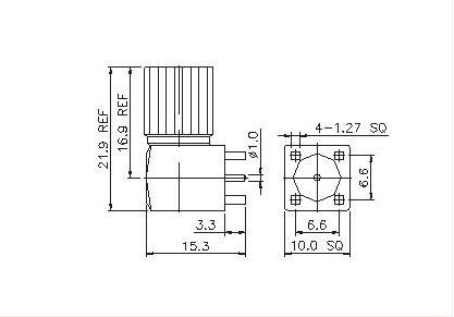 Right Angle Plug PCB