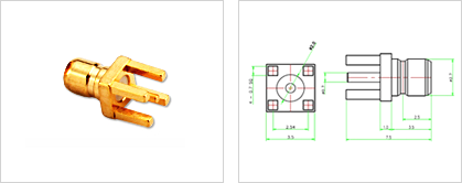 HOOK ON PCB for Automobile Connector 이미지