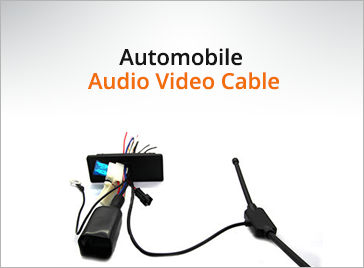 Automobile Audio Video Cable