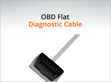 OBD Flat Diagnostic Cable