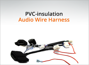 PVC-insulation Audio Wire Harness